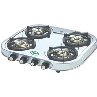 EELLEE 4 Burner Stainless Steel Gas Stove ELE-4122