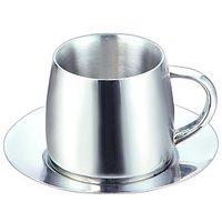 Silver Queen Cup & Saucer