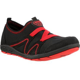Sparx Women Black & Red Running Shoes (SL-84)