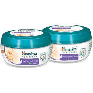 Himalaya for Moms soothing body butter - Jasmine 50 ml (Pack of 2)