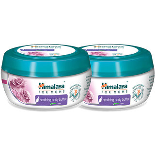 Himalaya for Moms soothing body butter - Rose 200 ml (Pack of 2)