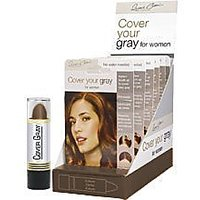 Cover Your Gray Hair Color Stick (Pack Of 6) Dark Brown