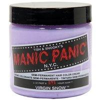 MANIC PANIC Semi-Permanent Hair Color Cream Virgin Snow (White Toner) 4oz