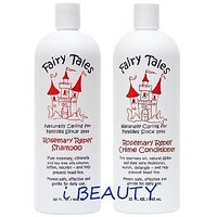 Fairy Tales Rosemary Repel Creme 32 Oz. Shampoo + 32 Oz. Conditioner (Combo