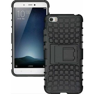 SIFAT  Oppo A57 - 3GBRAM- 5.2 inch - Defender Armor Hybrid Kick Stand cover Case - BLACK
