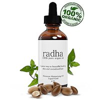 Radha Argan Oil ? 100% Organic For Hair, Face & Skin ? Best Virgin, Cold