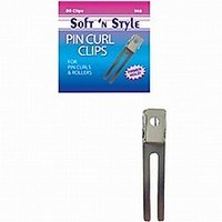 Soft 'n Style Boxed Pin Curl Clips / 80 Per Box (140)