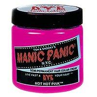 Manic Panic Cream Formula Semi, Permanent Hair Color, Hot Pink, 4 Oz
