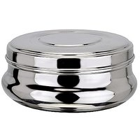 Grish Stainless Steel Jenny Puri Dabba Set Of 3