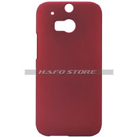 Hard Back Cover Case For HTC One 2 M8 RED