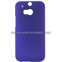Hard Back Cover Case For HTC One 2 M8 PURPLE