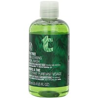 The Body Shop Tea Tree Skin Clearing Facial Wash Regular, 8.4-Fluid Ounce