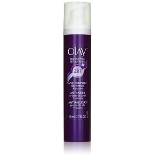 Olay Age Defying 2-In-1 Anti-Wrinkle Day Cream + Serum 1.7 Fl Oz