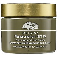 Origins Plantscription Spf 25 Anti-Aging Oil-Free Cream 1.7 Fl. Oz./50Ml