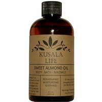 Sweet Almond Oil - Great Anti Aging Moisturizer For Your Face, Skin, Hair