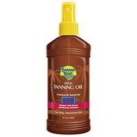 Banana Boat Deep Tanning Oil, SPF 0, 8-Ounce Spray Bottles (Pack Of 3)