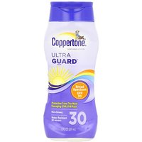 Coppertone UltraGuard Sunscreen Lotion, UVA/UVB Protection, SPF 30, 8-Ounce