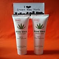 TWIN PACK Aloe Vera Skin Gel 99% Aloe Vera Gel By GNC Paraben Free NO Animal