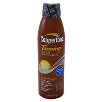 Coppertone Tanning Dry Oil SPF 15 Sunscreen Spray