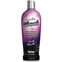 Pro Tan Incredibly Black 10X Double Dark Bronzing Lotion 8.5 Oz.