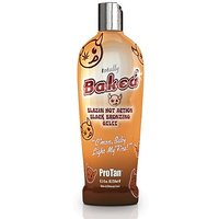 Pro Tan TOTALLY BAKED Blazin Hot Black Instant Bronzing Gelee Tanning Lotion