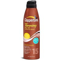 Coppertone Tanning Continuous Spray SPF 15, 6 Fluid Ounce