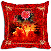 Red Rose Digitally Printed Cushion Cover