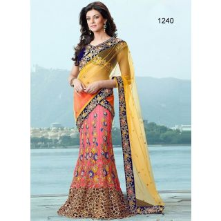 Susmita Sen Bollywood Replica Saree Multi Lehnga