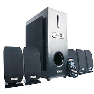Intex Home Theater IT-4000 BT 5.1Ch Speakers with FM/USB/SD/Remote