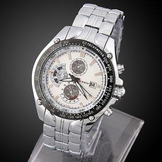 CURREN 8083 Luxury Brand Military Men Sports Wrist Watch Full Steel Auto Date