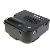 Protel 48 Lm LED Corded Portable Projector (Black) D800+