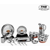 PNB High Quality Stainless Steel 51 Pieces Dinner Set