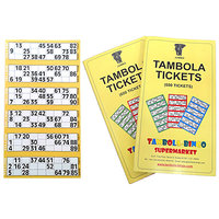Tambola Tickets: Yellow Border