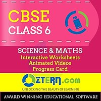OZTERN Class 6 CBSE  Program-USB (Science & Math's)