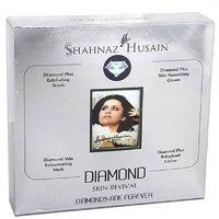 Shahnaz Husain Diamond Facial Kit for Whitening & Fairness For All Skin Types - 40g (Pack of 1)