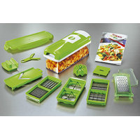 QUALITY MULTI CHOPPER VEGETABLE CUTTER FRUIT PEELER SLICER NICER DICER PLUS