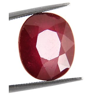 11.40 Ct Oval Faceted Cut Natural Pink Ruby Gemstone