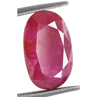 5.95 Ct Ruby Gemstone 6.25 Ratti Old Burma Ruby
