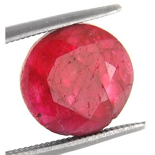 5.49 Ct Certified Precious African Ruby Gemstone