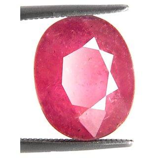7.35 Ct Certified Madagascar Hot Pink Ruby Gemstone