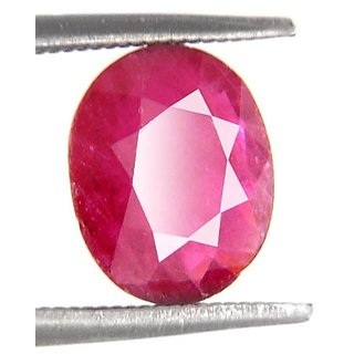 1.93 Ct Certified Oval Shape Precious Ruby Gemstone