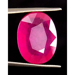 8.27 Cts Pink Color Ruby Gemstone
