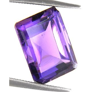 5.26 Cts Certified Natural Amethyst Gemstone