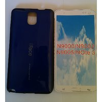 IFace Silicon  Back Cover For Samsung Galaxy Note 3 /N9000/9005/9002-blue