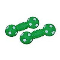 Karlie Vinyl Spiney Ball Dog Toy 3.5-Inch