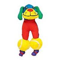 Karlie Vinyl Duck Postman Dog Toy 3.5-Inch