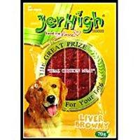 Jerhigh Liver Browny Dog Treat 70 G (Pack Of 6)
