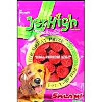 Jerhigh Salami Dog Treat 70G Pack Of 6
