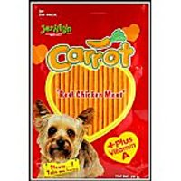 Jerhigh Carrot Stix Dog Treats 70 G Pack Of 3