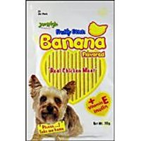 Jerhigh Fruity Banana Stick Dog Treats 70 G Pack Of 3